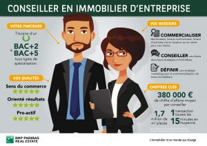 Commercial Immobilier Professionnel