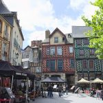 Rennes place Saint Anne